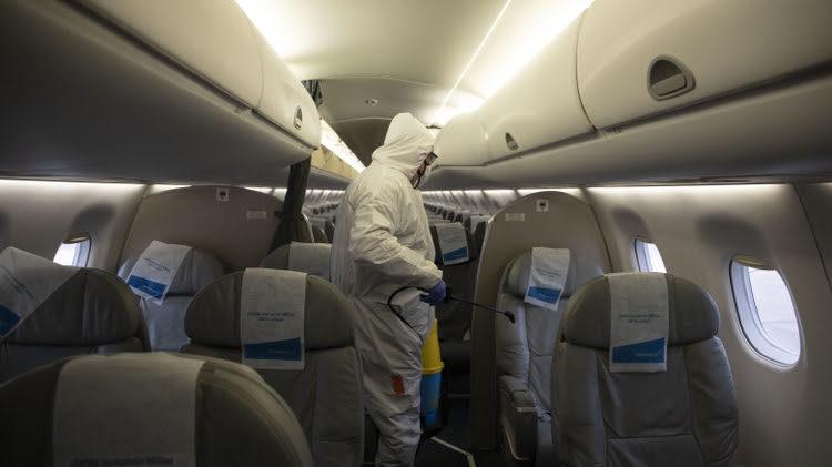 Aerolíneas Argentinas aplica su protocolo de seguridad sanitaria en los  vuelos especiales ? Aviones.com